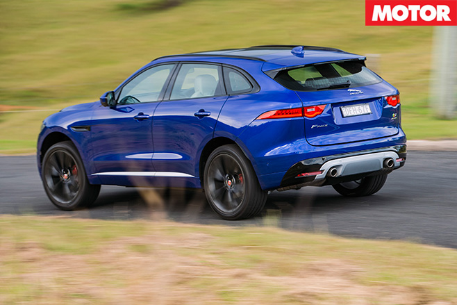 2016 Jaguar F-Pace rear