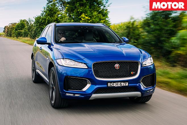 2016 Jaguar F-Pace front