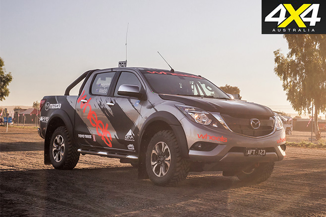 Wheels mazda bt-50