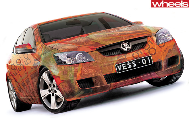 Holden -Commodore -VE