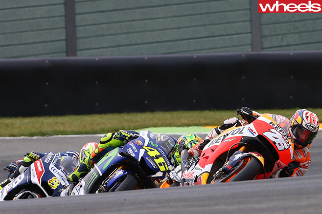 Moto GP-rider -racing