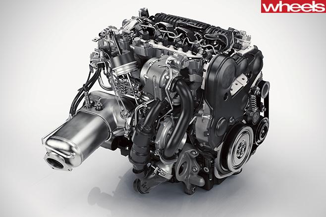 Drive -E-4-cylinder -diesel -D5-engine
