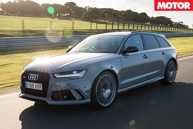 Audi RS6 Avant Performance front side