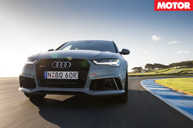 Audi RS6 Avant Performance front
