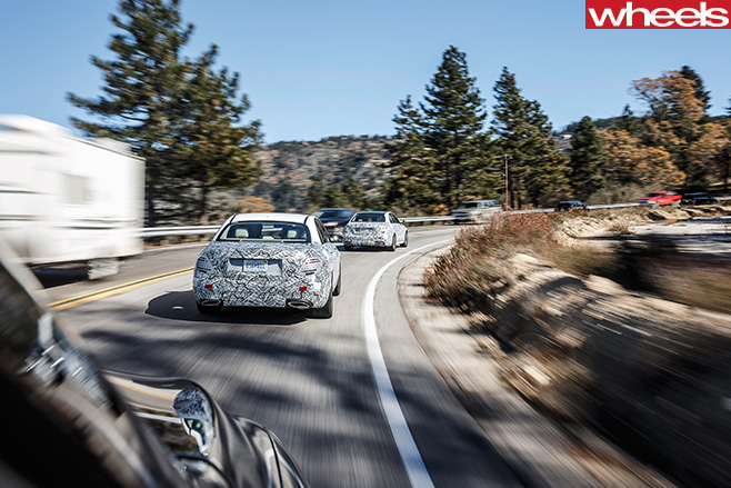 Camloflauged -mercedes -benz -testing -autonomous -driving
