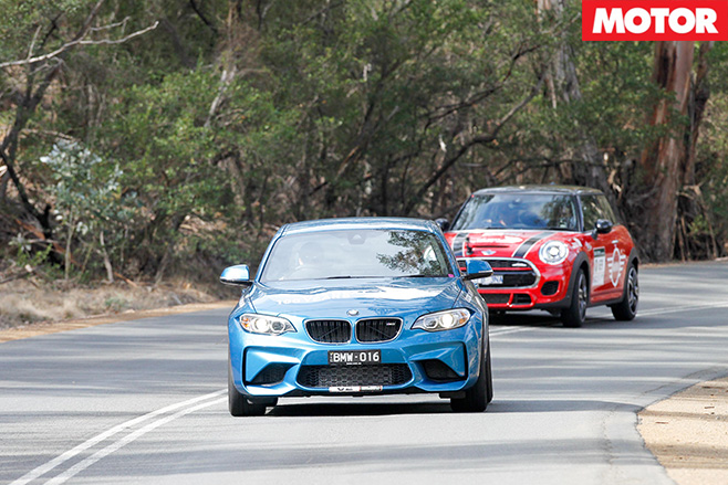 Driving cars for Targa Tasmania