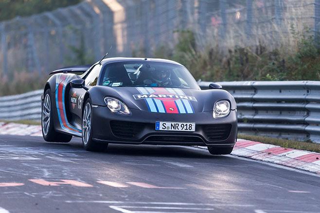 658_Porsche -918-Spyder -at -the -Nurtburgring