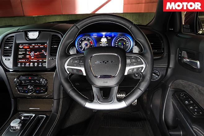 Chrysler 300 SRT dashboard