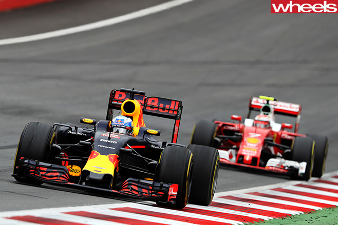 Red -Bull -vs -Ferrari -F1-circuit