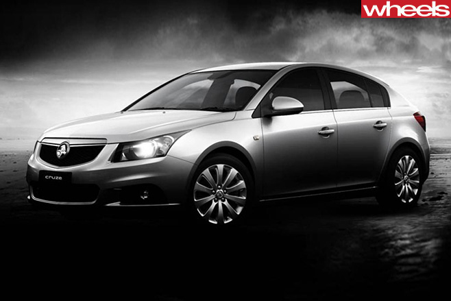 Holden -Cruze -drawing -front -side