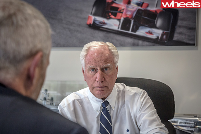 Neville -Crichton -F1-frame -in -office