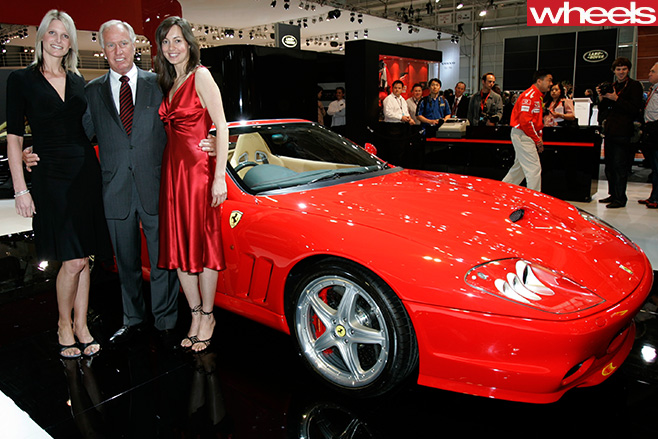 Neville -Crichton -with -a -Ferrari