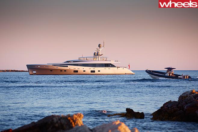 Boat -at -sea
