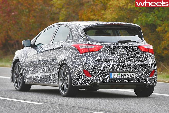 Hyundai -n -spy -pic -rear