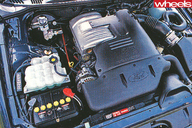 Ford -XR8-engine