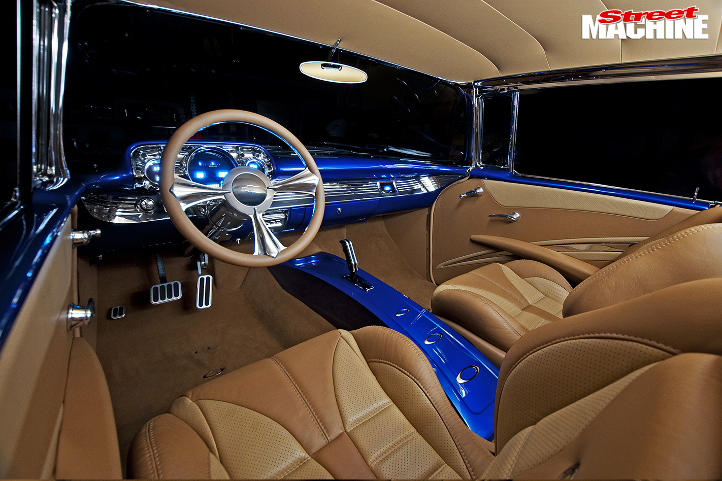 Chevrolet -Bel -Air -interior -front
