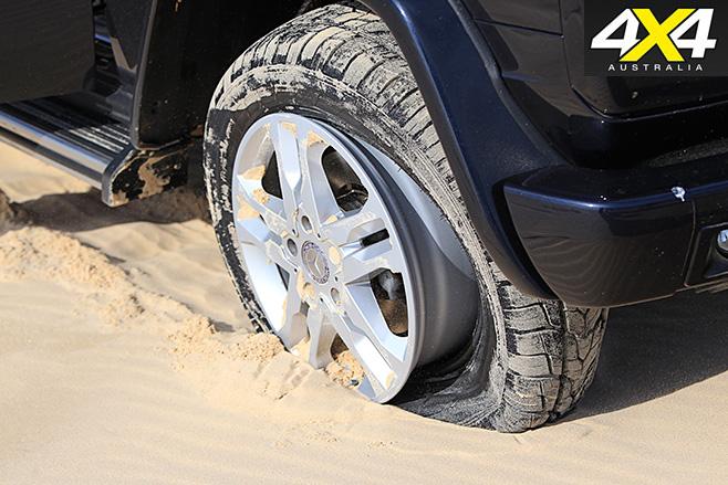 Tyre off rim