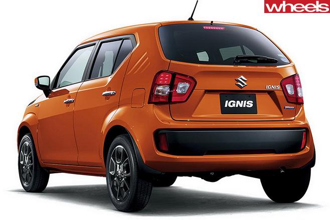 Suzuki -Ignis -rear