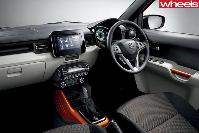 Suzuki -Ignis -interior