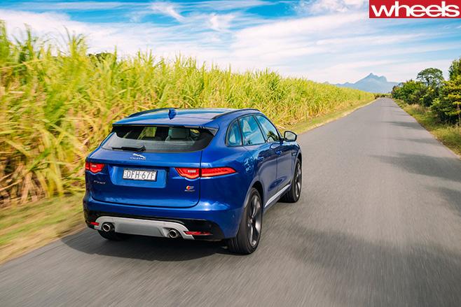 Jaguar -F-Pace -S-rear -side