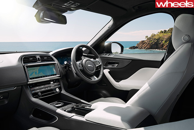 Jaguar -F-Pace -S-interior