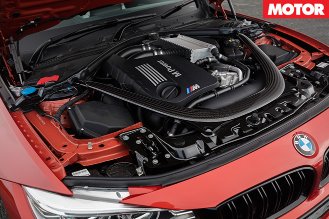 BMW M4 competition engine