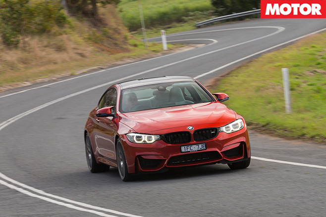 2016 BMW M4 Competition front