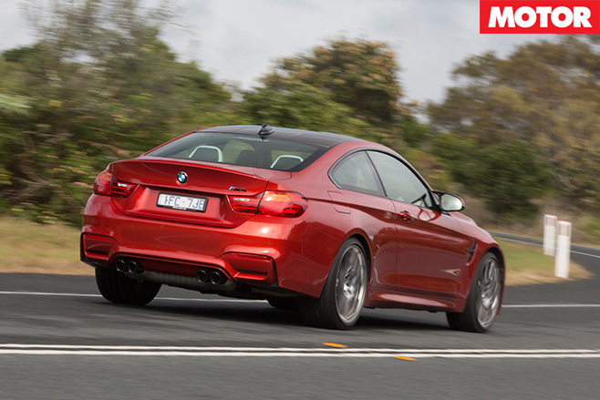 2016 BMW M4 Competition rear