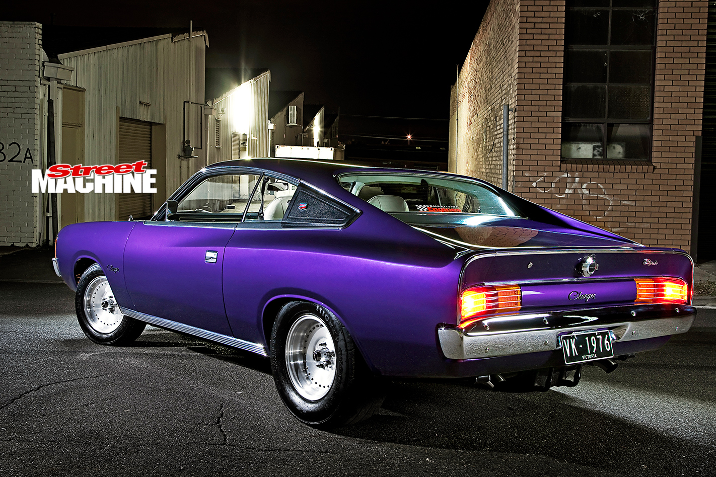 Chrysler -vk -valiant -charger -rear -angle