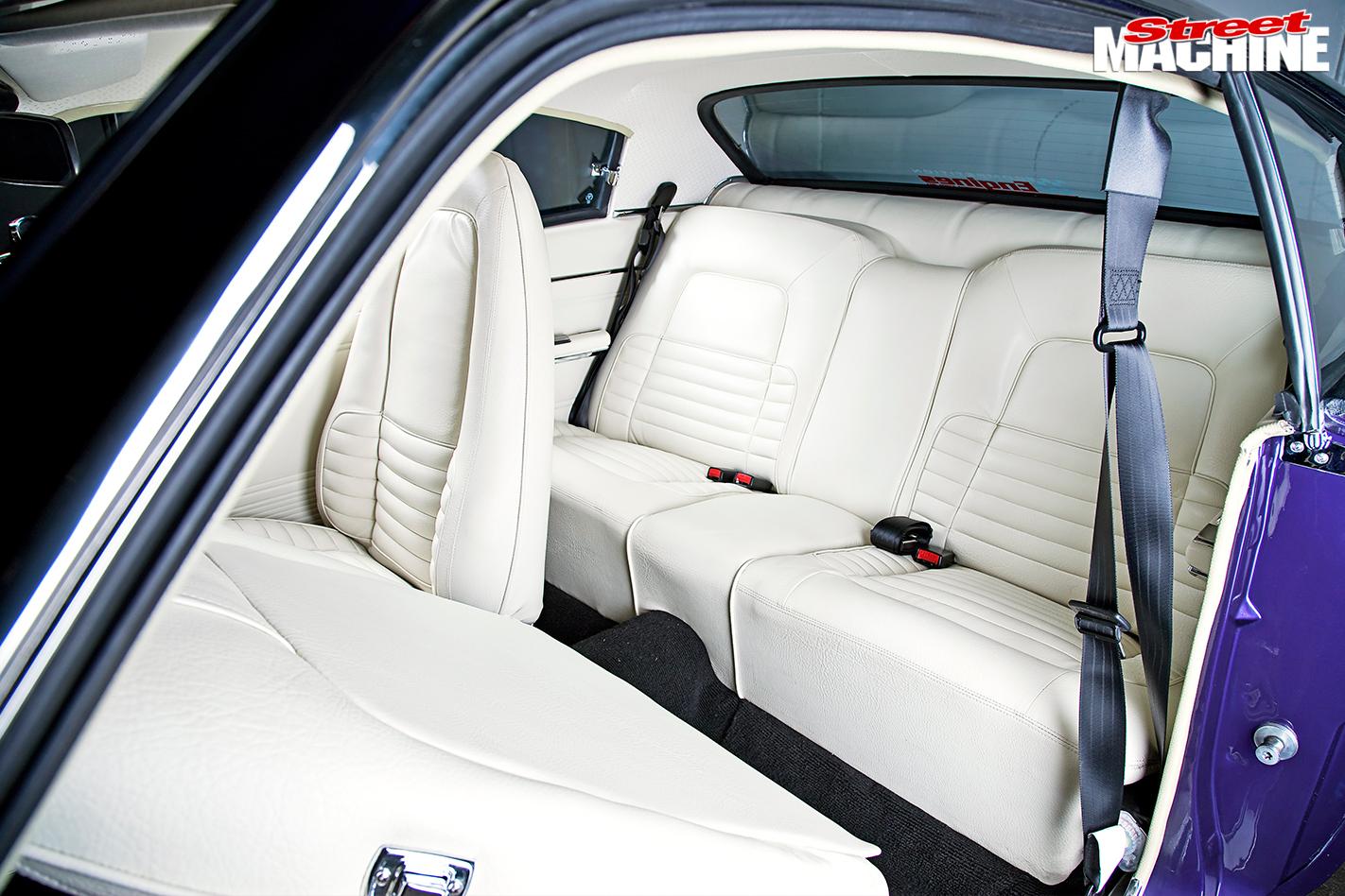 Chrysler -vk -valiant -charger -interior -rear