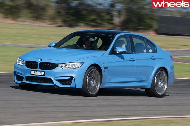 BMW M3 track