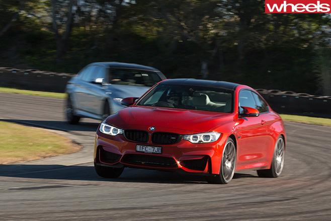 BMW M4 track