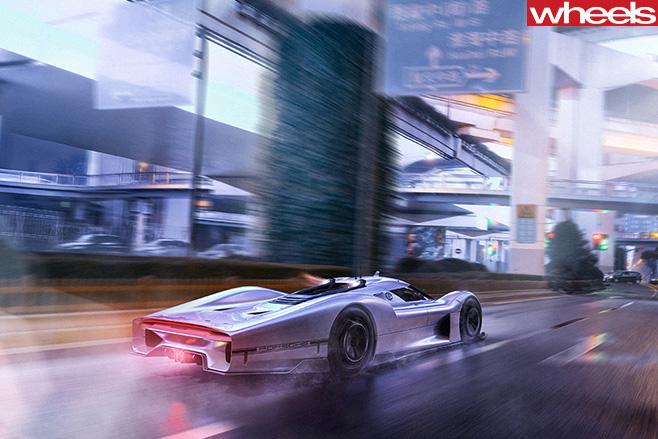 Porsche Vision GT Concept City