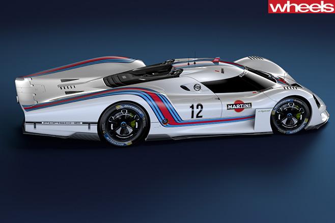 Porsche Vision GT Concept side
