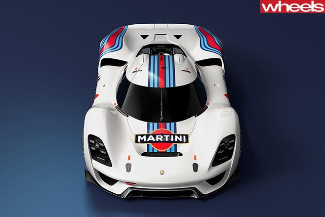 Porsche Vision GT Concept top