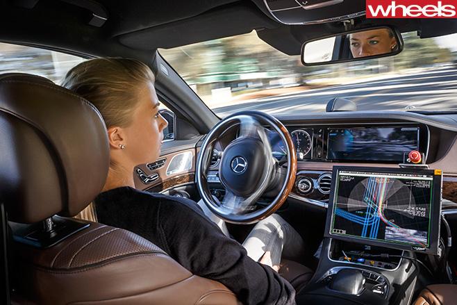 Mercedes -E-Class -autonomous -driving