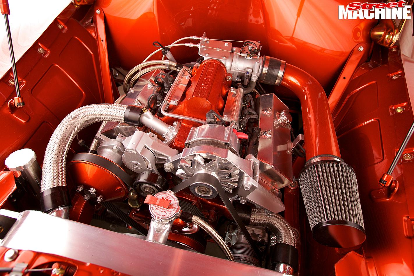 Holden -fj -ute -engine -bay