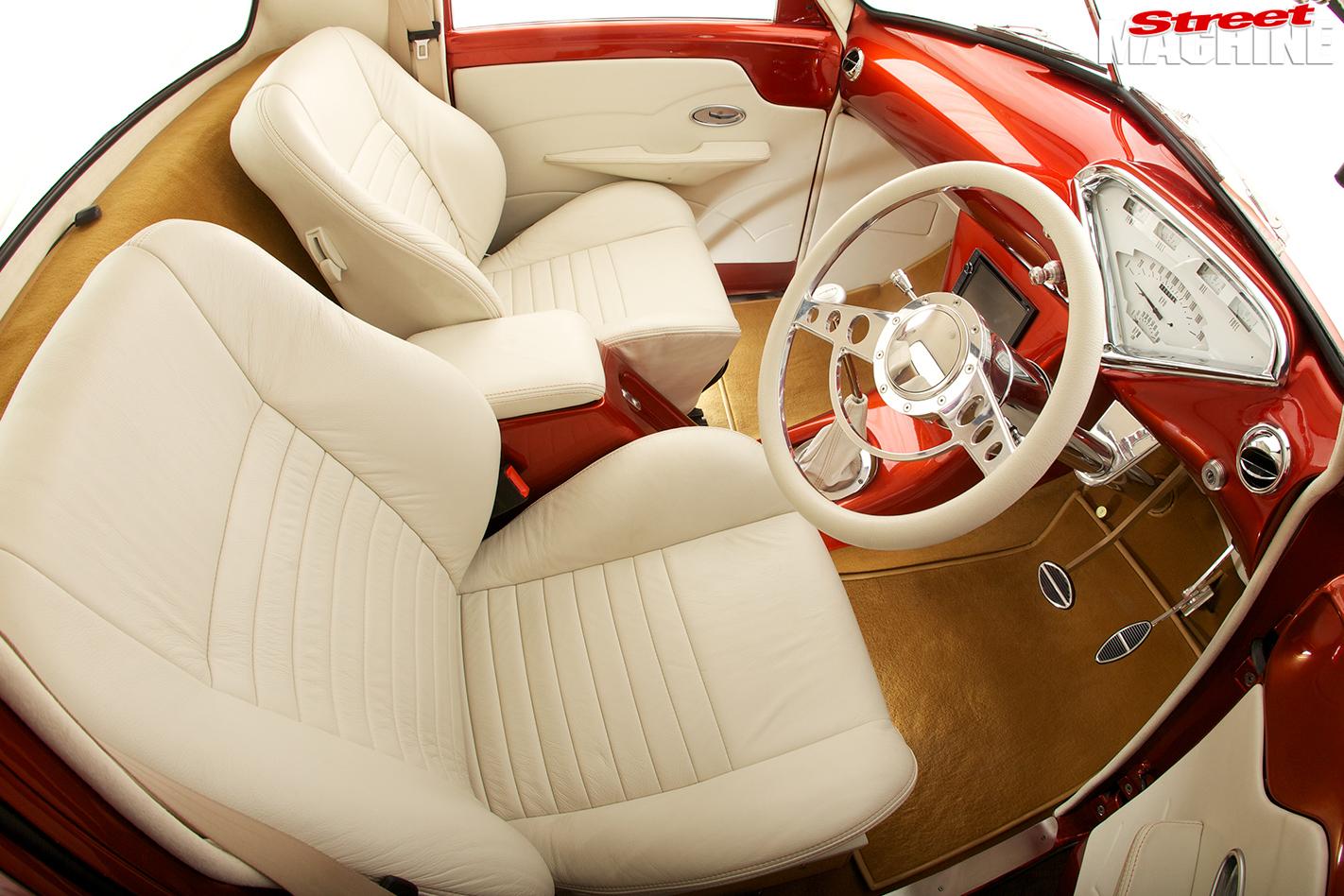 Holden -fj -ute -interior -front