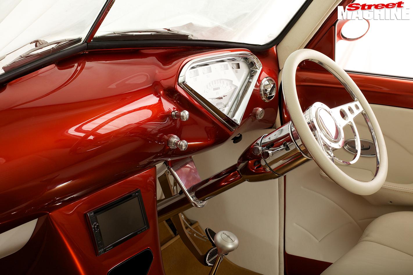 Holden -fj -ute -interior -dash