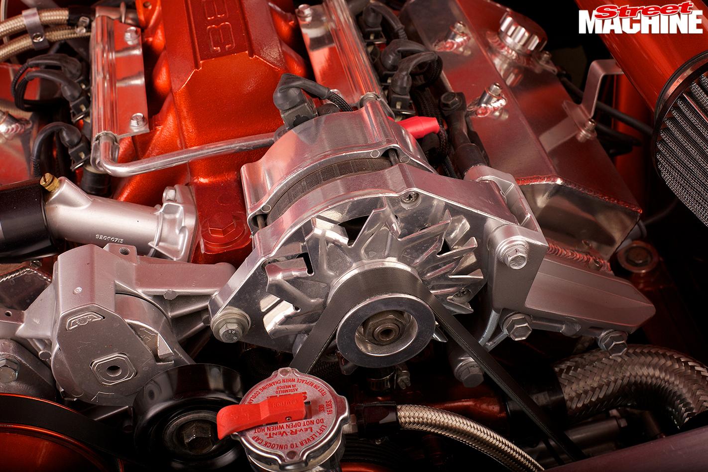 Holden -fj -ute -engine -detail