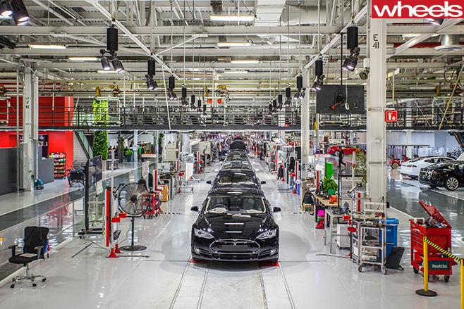 Tesla -Model -3-manufacturing