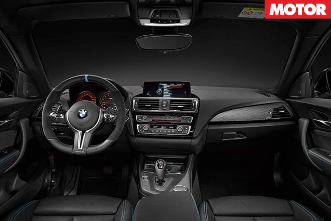BMW M2 CSL interior