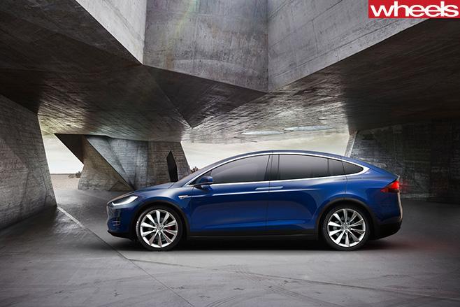 Tesla -Model -X-side