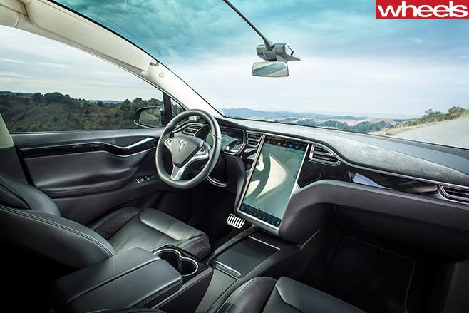 Tesla -Model -X-interior
