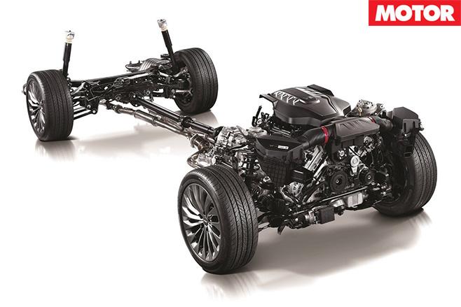 Hyundai Genesis G90 chassis