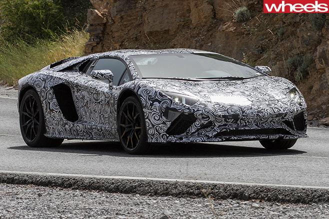 Lamborghini -Aventador -side -front