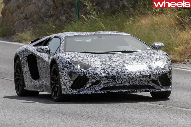 Lamborghini -Aventador -front -grille