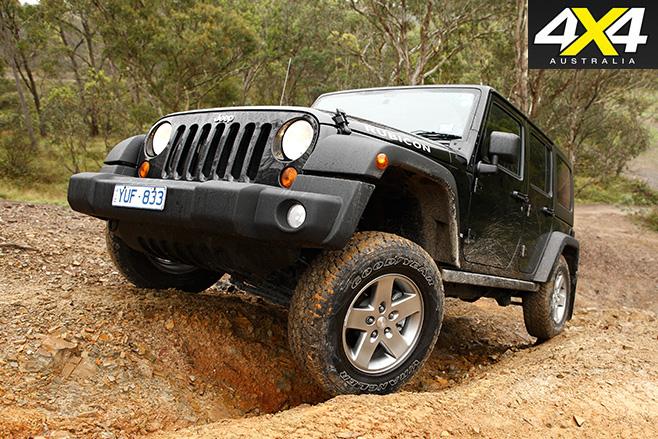 Jeep wrangler rubicon front