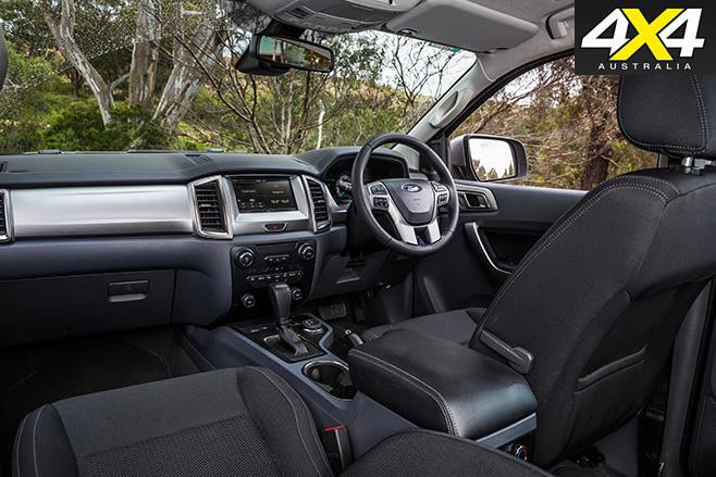 Ford everest interior