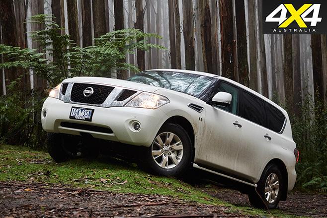 Nissan Patrol front